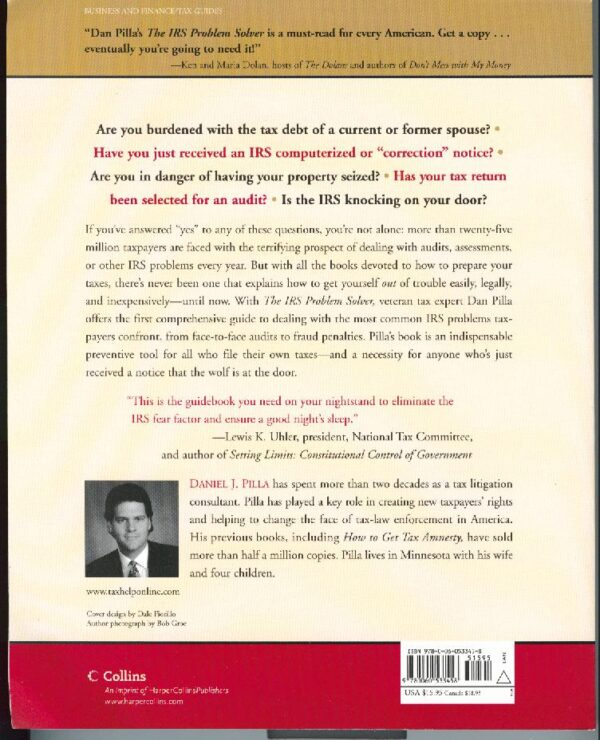 The IRS Problem Solver book back