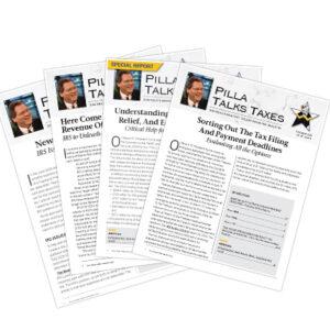 Pilla Talks Taxes Newsletters